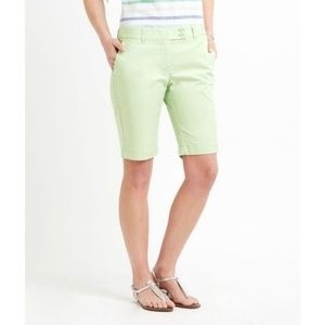 Vineyard Vines Size 8 Green Dayboat Bermuda Shorts